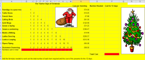 This was designed for teaching schoolkids to learn Excel. Just for fun.